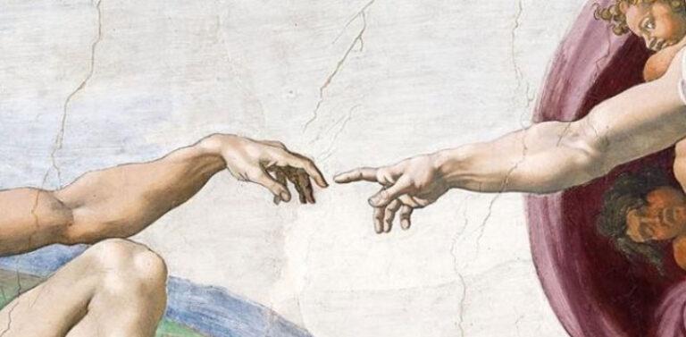 Contact de la peau entre les êtres humains