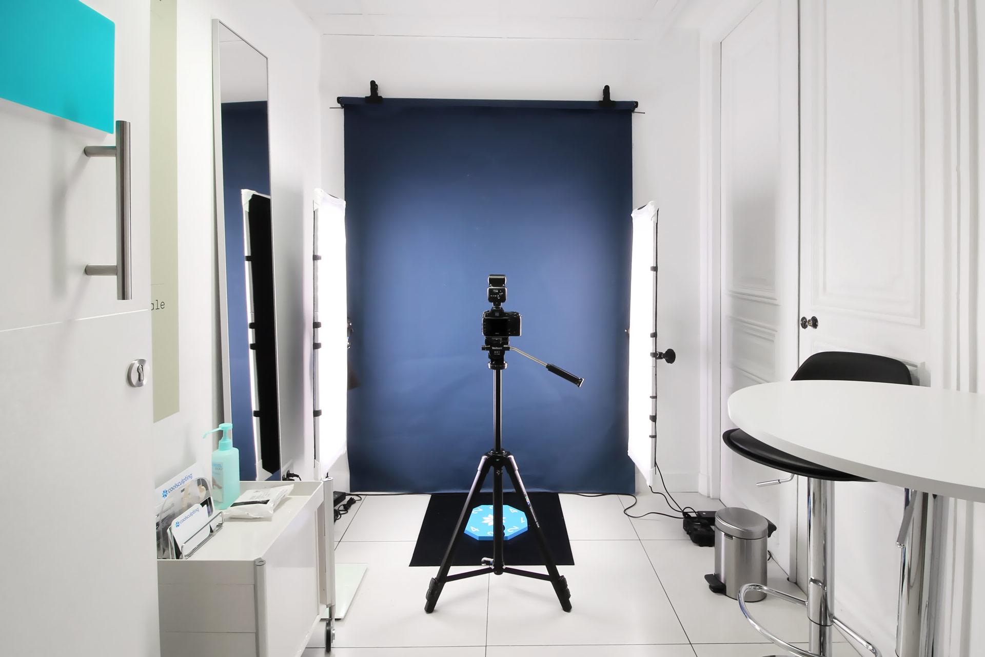 Installations professionnelles pour des photos standardisées