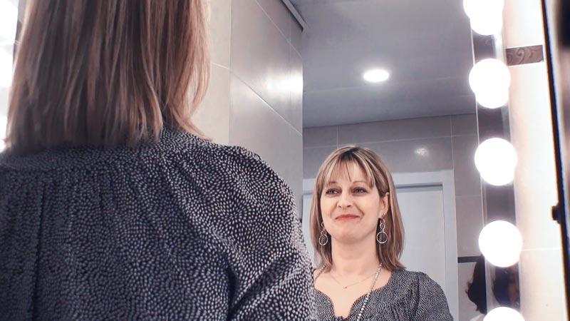 Loge discrète et individuelle pour le démaquillage et maquillage